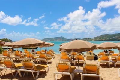 St Martin's Beach Bar Island