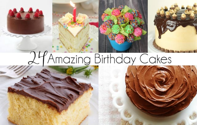 24 Amazing Birthday Cake Recipes You Will Love All In All
