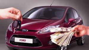 På billedet - salget af en kreditbil af banken, Luchauto.ru