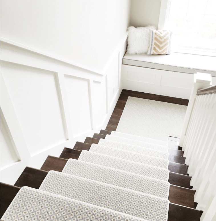 How To Choose And Lay A Stair Runner An Overview Caroline On Design | Best Kind Of Carpet For Stairs | Stairway | Hardwood | Grey | Stair Runners | Herringbone