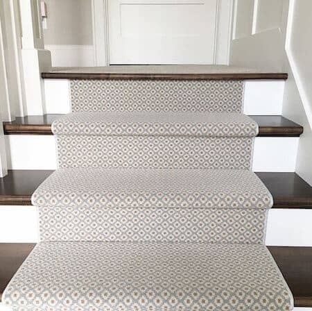 How To Choose And Lay A Stair Runner An Overview Caroline On Design | Small Rugs For Stairs | Area Rug | Stair Tread | Wood | Stair Rods | Stair Case