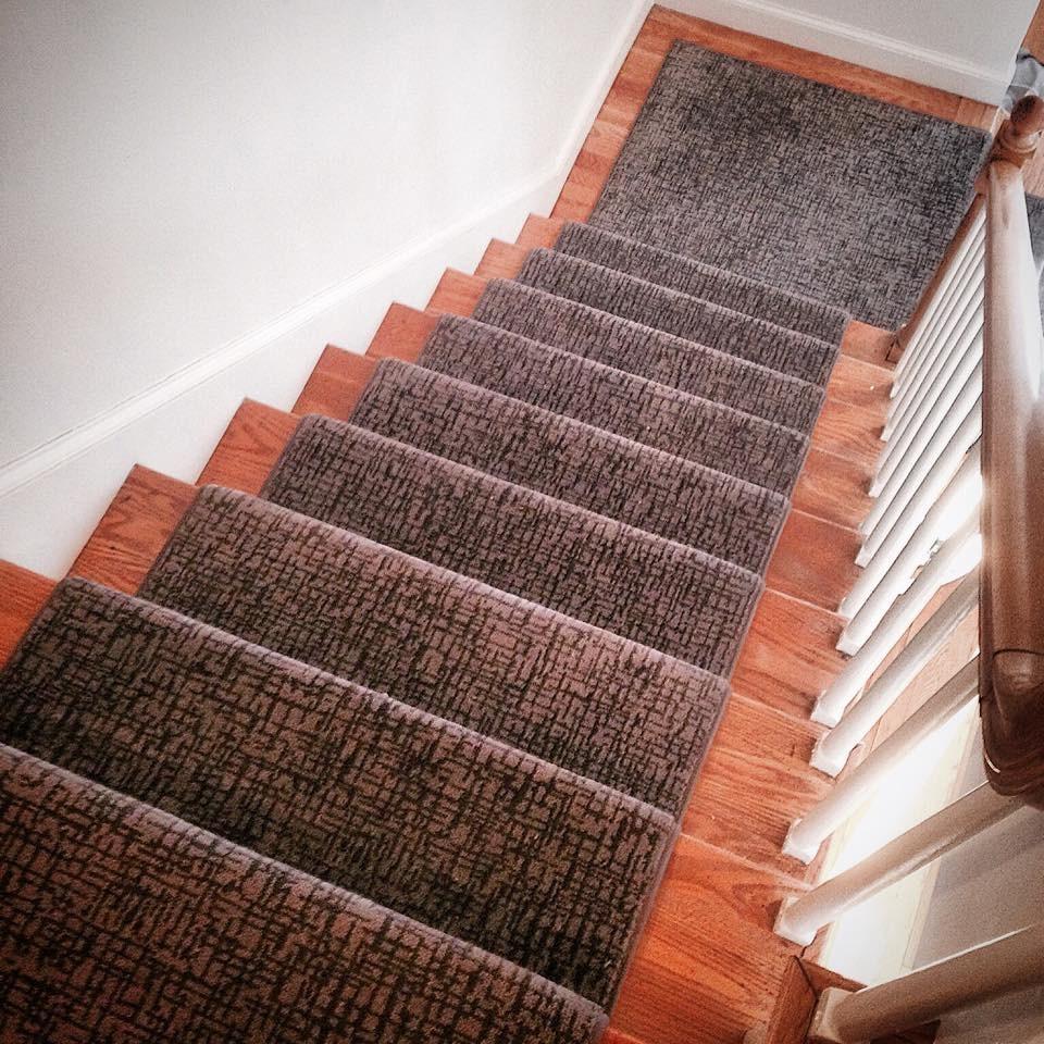 Modern Stair Runner Carpet Workroom | Carpet Colors For Stairs