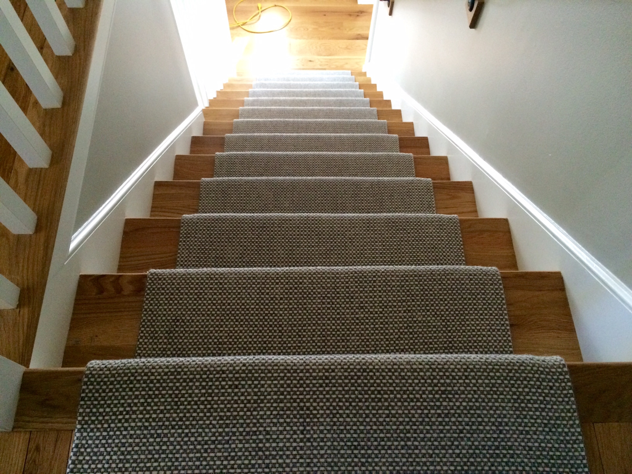 Merida Flat Woven Wool Stair Runner By The Carpet Workroom   Wool Carpet Runners For Stairs   Flooring   Woven   Rectangular Cord Treads   Stair Country Style   Modern