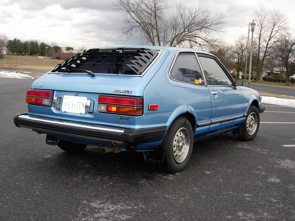 1980 Green Accord Honda