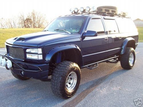 lifted chevy suburban 1997