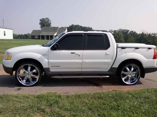 2002 Trac Explorer Ford Sport
