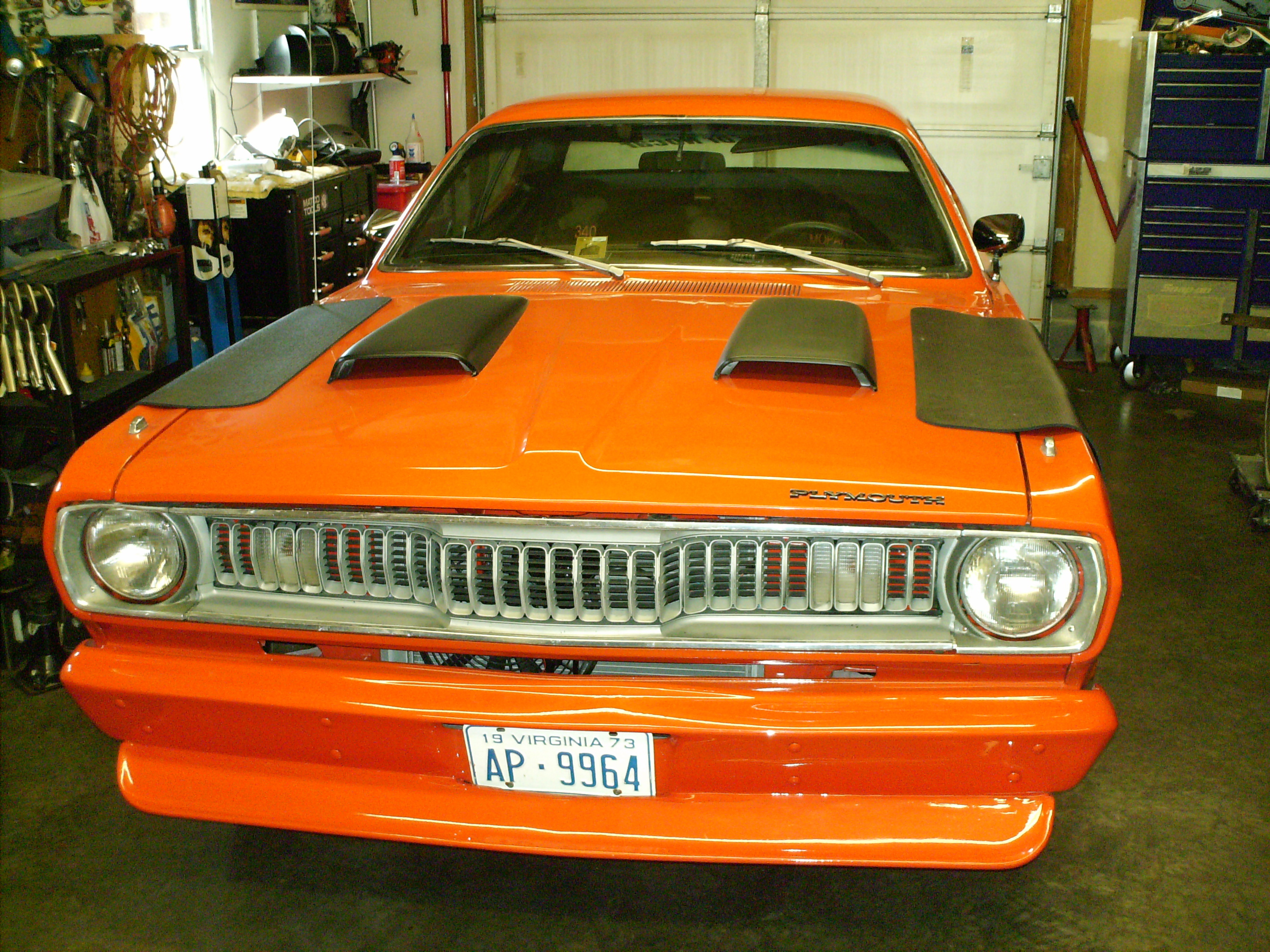 73 Plymouth Duster Ride