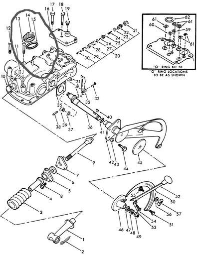 Ford 3000 Tractor Hydraulic Diagram