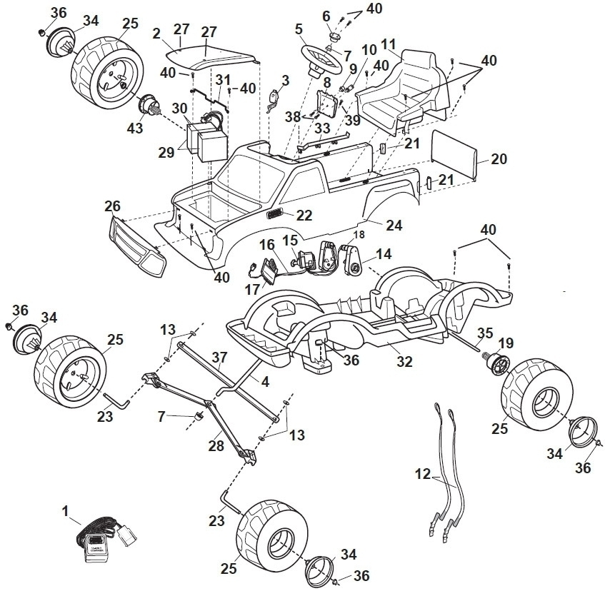Factory Ford F 150 Body Parts