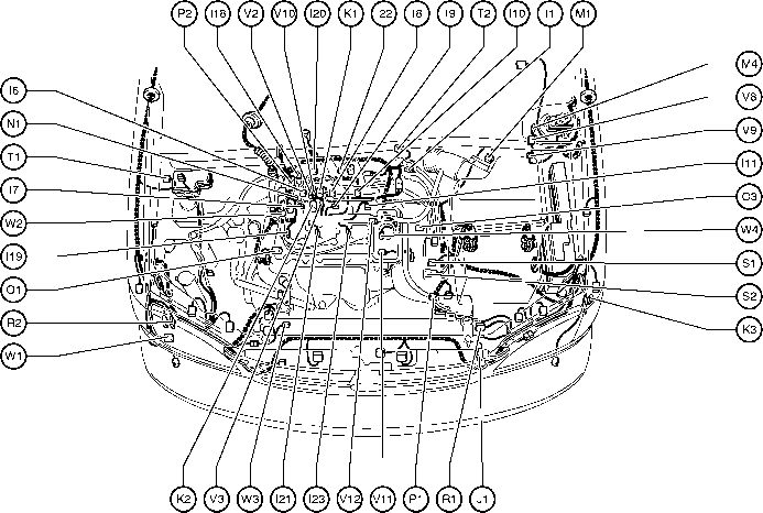 position of parts in engine compartment toyota sienna 1997 2003 within 2001 toyota corolla engine diagram 2003 toyota corolla engine parts diagram