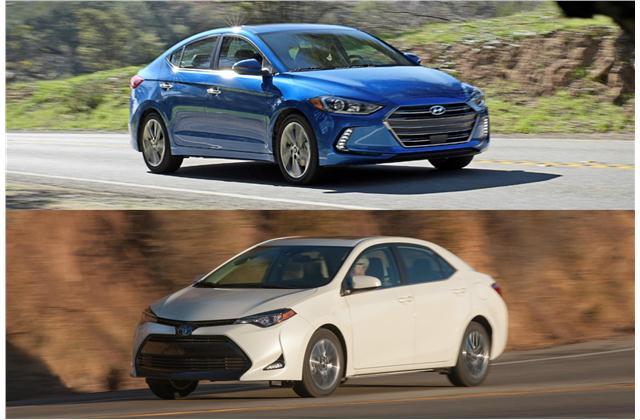 2018 Hyundai Elantra Vs 2018 Toyota Corolla Head To Head U S News Amp World Report