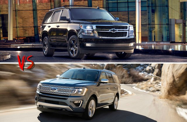 2019 Chevrolet Tahoe Vs 2019 Ford Expedition Head To Head U S News Amp World Report