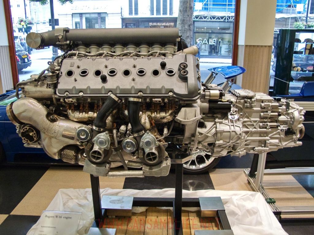 Bugatti Veyron Engine Diagram W16