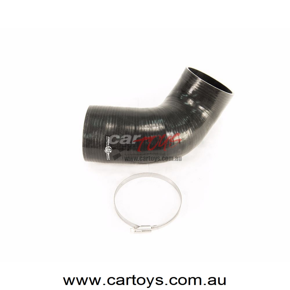 4″ Silicon Inlet Pipe (suits Ford Falcon FG w/ PW Airbox & 4″ Turbo Inlet)
