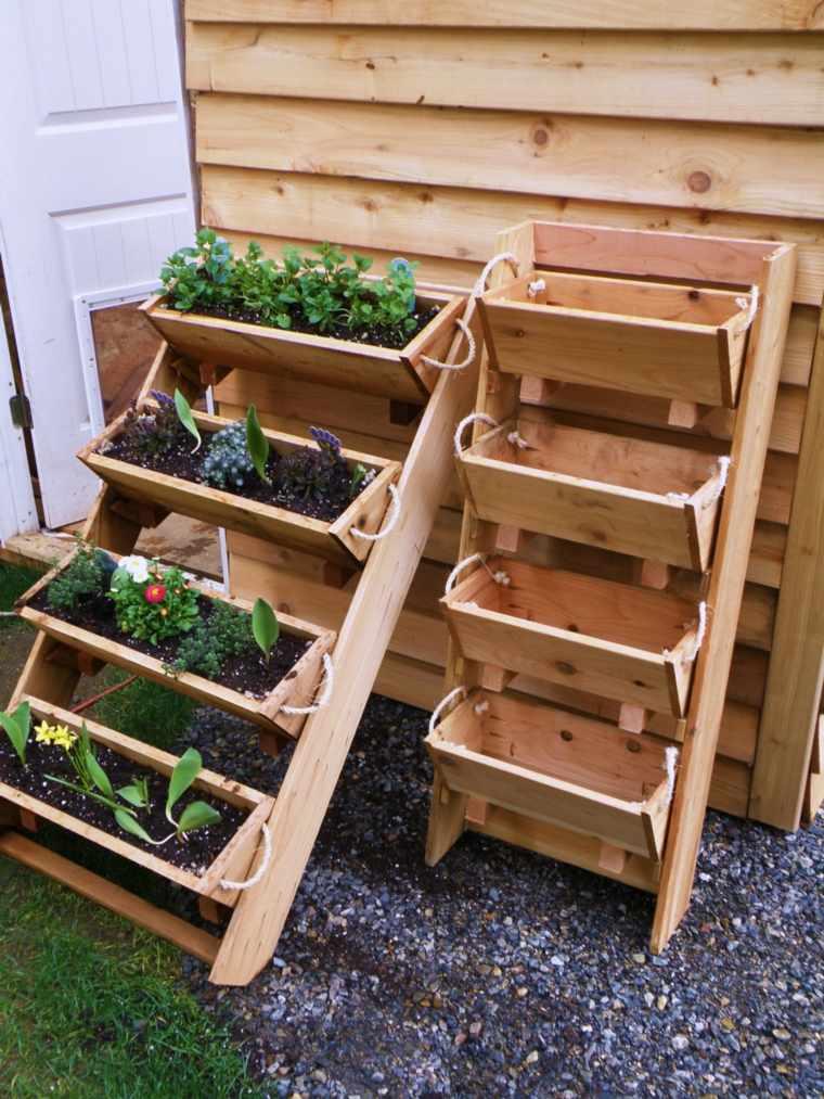 Wood Raised Vegetable Garden