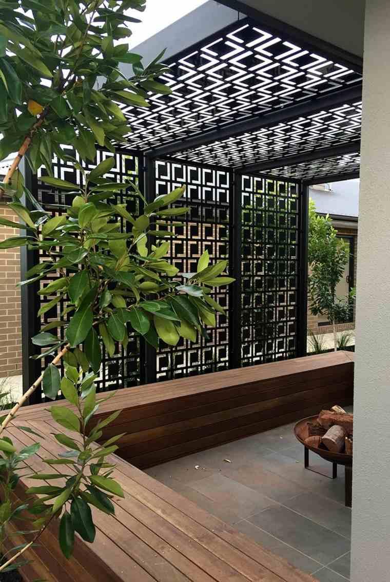 P 233 Rgolas Dise 241 O Moderno Para Jardines Y Terrazas