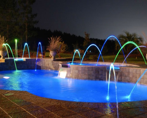 All American Pool Company Fiberglass Swimming Pool