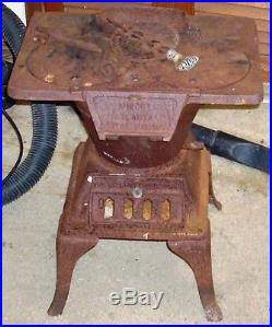Antique Cast Iron Laundry Stove Midget Atlanta Stove Works