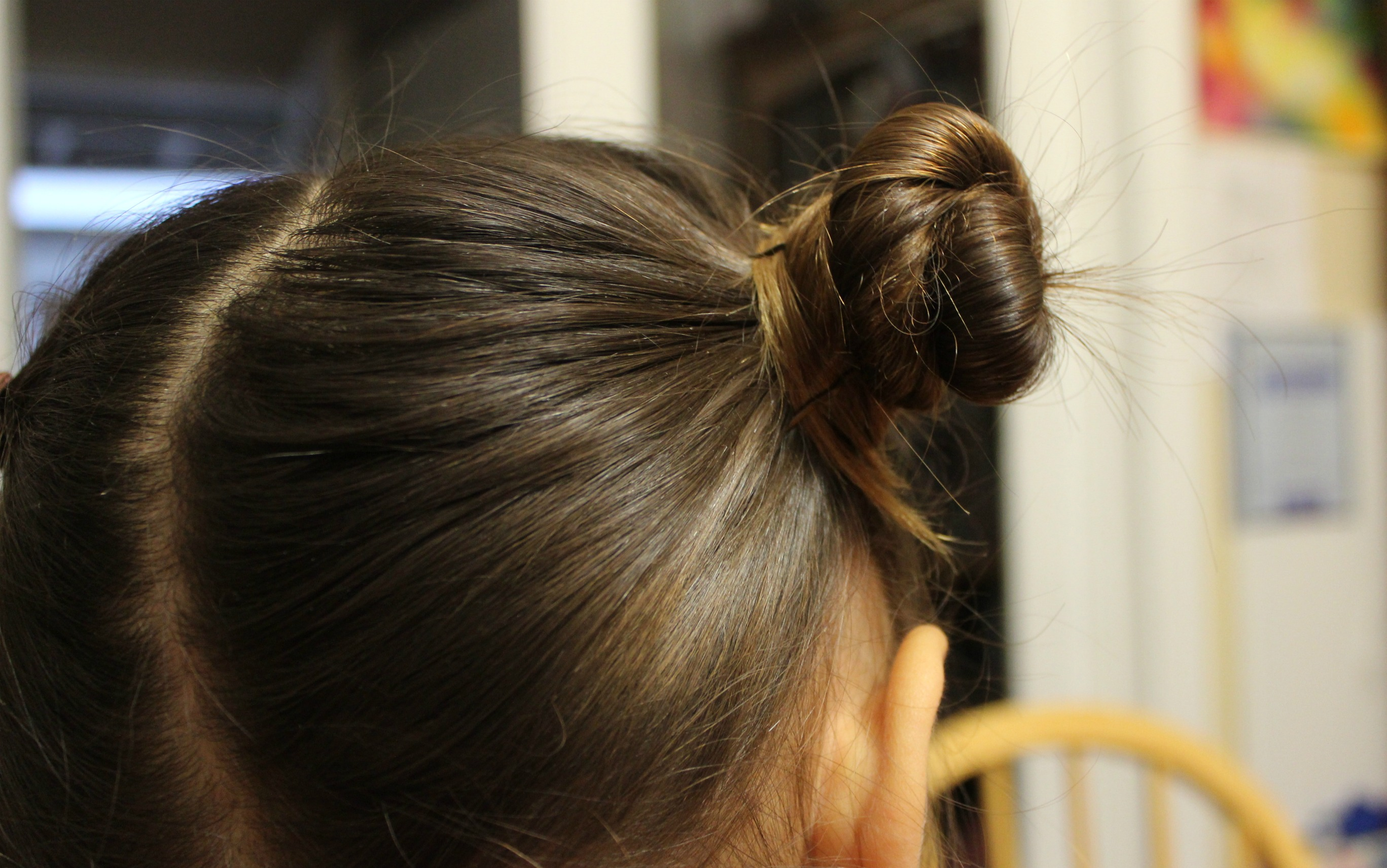 Traditional Chinese Children's Hairstyle: Two Buns on the ...
