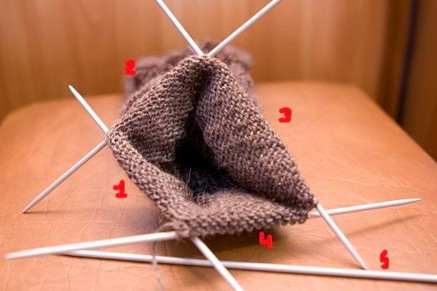 Strikking for 5 strikking