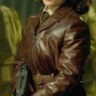 Original Leather Jacket of Peggy Carter Captain America