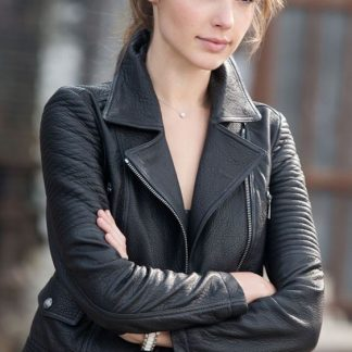 Fast and furious Leather Jacket of Gal Gadot