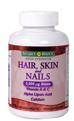 Natures Bounty Optimal Solutions Hair Skin And Nails 250 Softgels