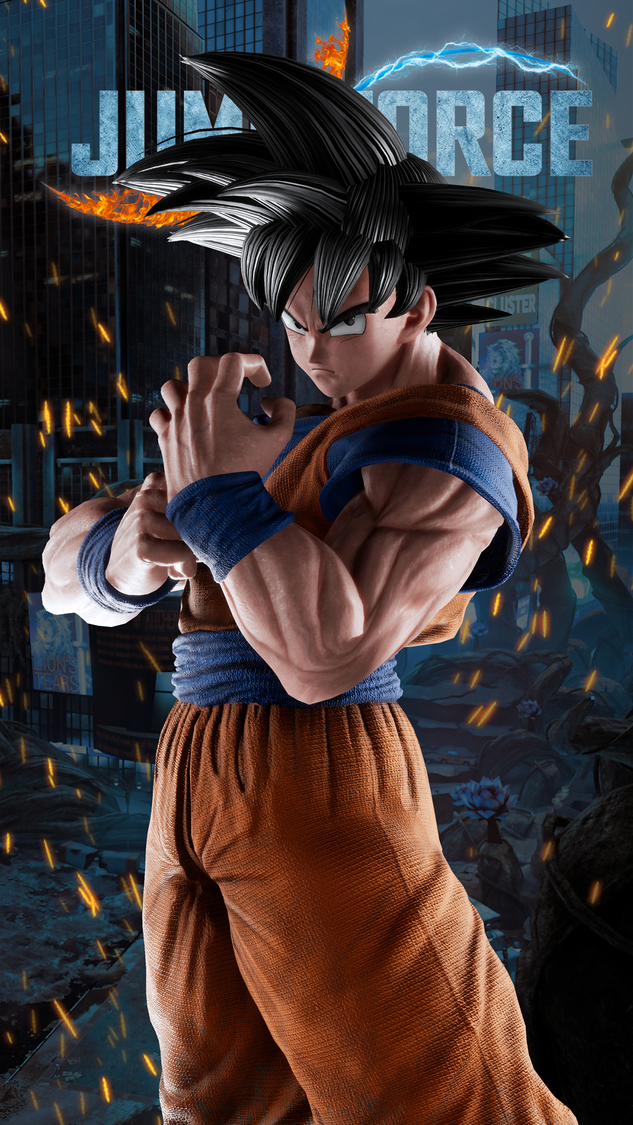 Jump Force Goku Wallpapers Cat With Monocle