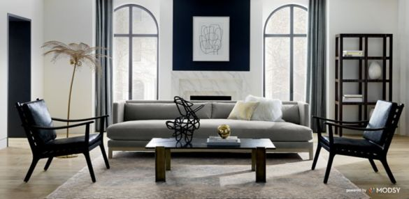 Modern and Unique Furniture Design   CB2 Virtual room design  Real stylists