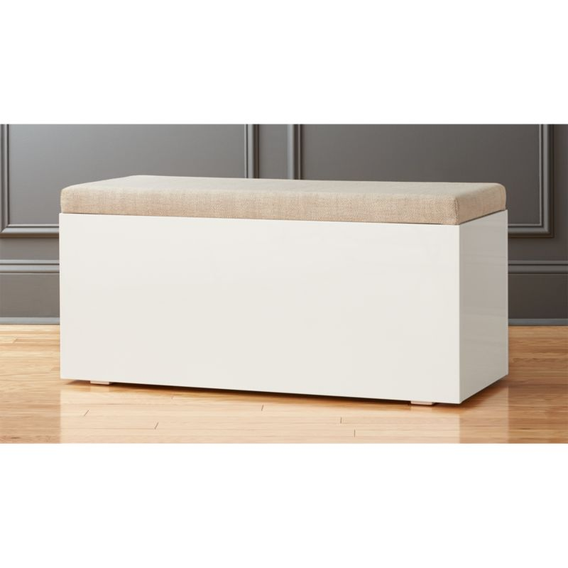 Catch All Sand Storage Bench Reviews Cb2