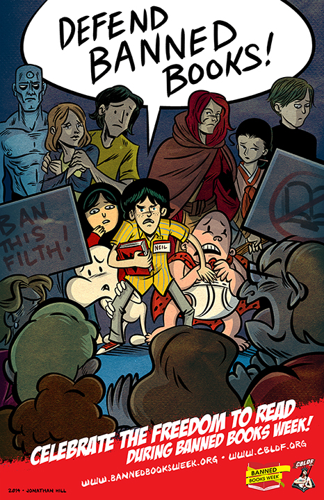 Banned Books Week 2015 Free Posters And Resources