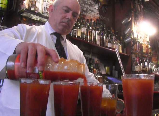 The birthplace of the Bloody Mary - CBS News
