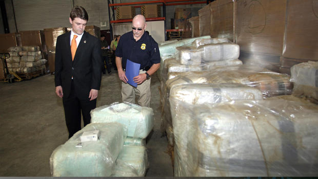 San Diego Tijuana Drug Tunnel 30 Ton Marijuana Bust A