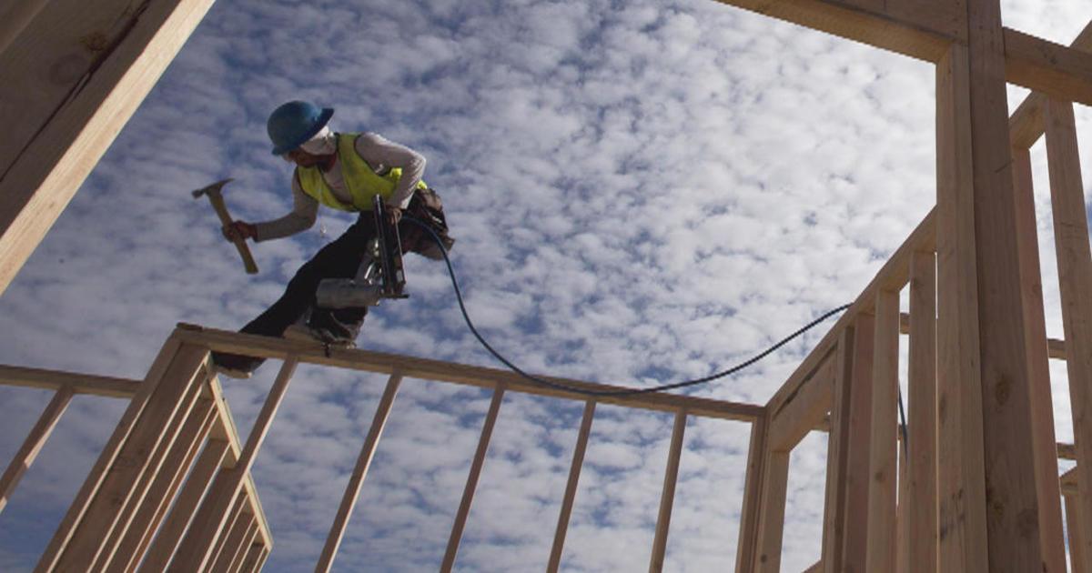 A New Blueprint For America S Construction Trades Cbs News