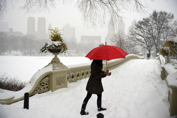 Washington D C Massive Blizzard Buries East Coast