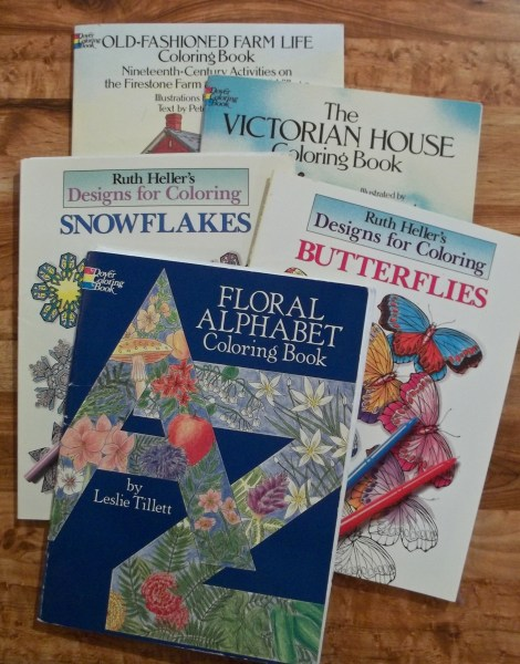 Coloring Books C B Wentworth Grandma S In Particular We All Loved Working The Floral