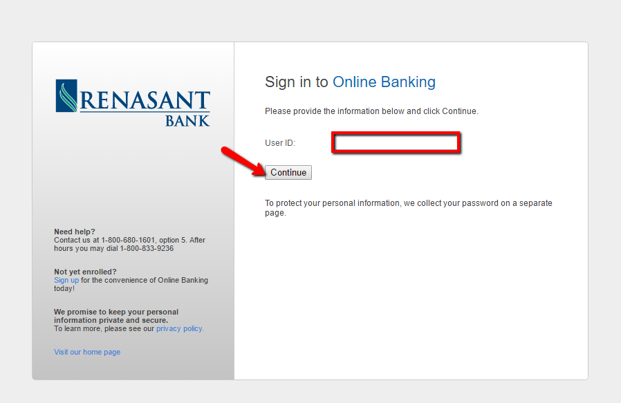 Renasant Bank Personal Banking