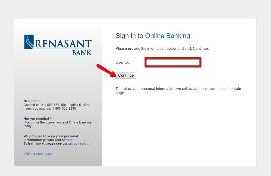 Renasant Personal Banking
