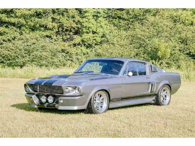 67 Mustang Wimbledon White
