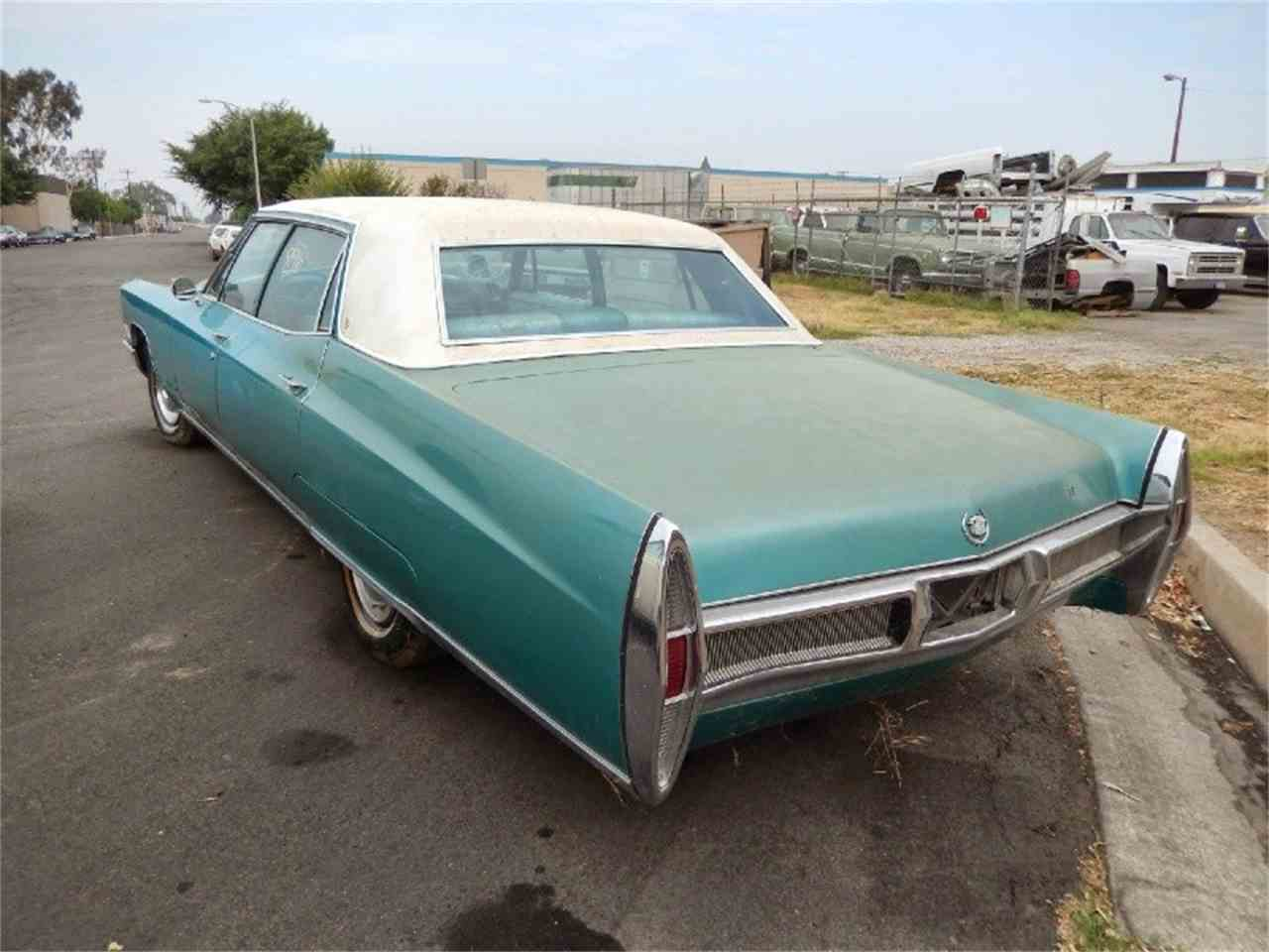 1967 Cadillac Fleetwood For Sale Classiccars Com Cc 878950