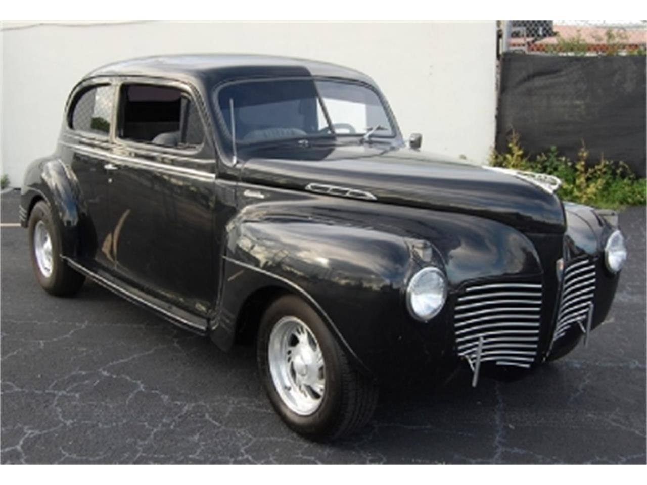 1941 Plymouth 2 Door Sedan Deluxe