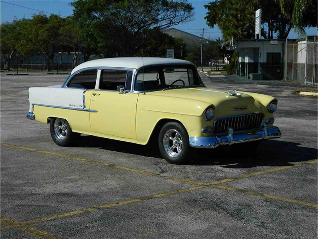 1955 Chevy 2 Door Post Sale Bel Air