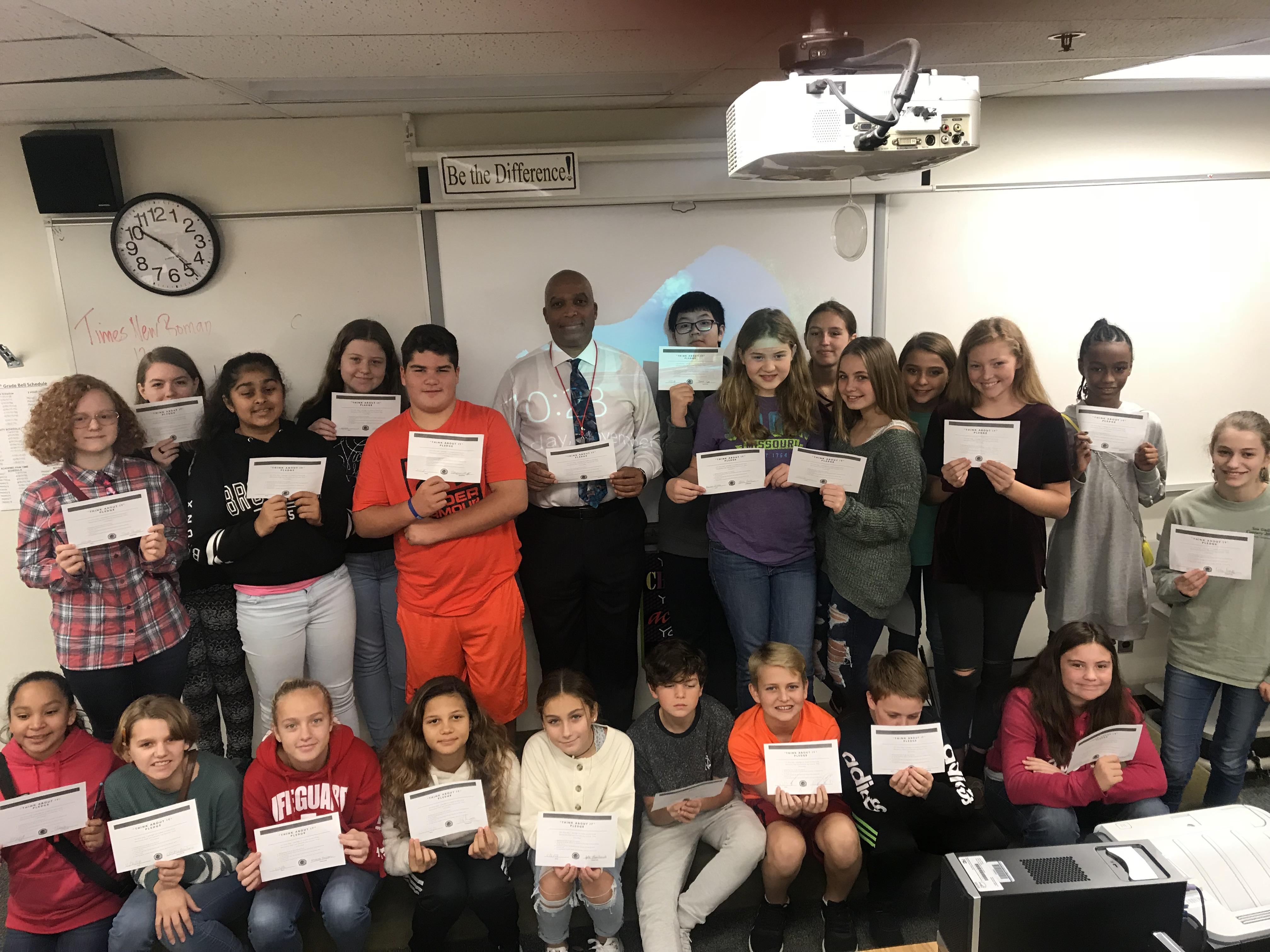 Career Day At Piccowaxen Middle School Ccsao