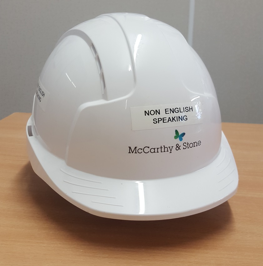 Small Tweeters Hard Hat