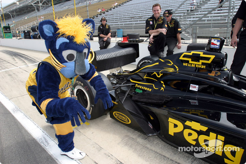 Pacers Boomer Indy 500 Car