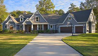 Craftsman House Plans   Craftsman Style Home Plans with Front Porch House Plans Exterior by DFD House Plans