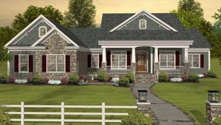 Daylight Basement House Plans   Home Designs   Walk Out Basements Affordable Country Homes with Bonus Room by DFD House Plans