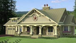 Country Home Plans   Extensive Selection of Rustic Country House Plans One Story  Country House Plans by DFD House Plans