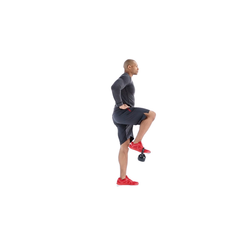 Kettlebell Leg Raises Video Watch Proper Form Get Tips