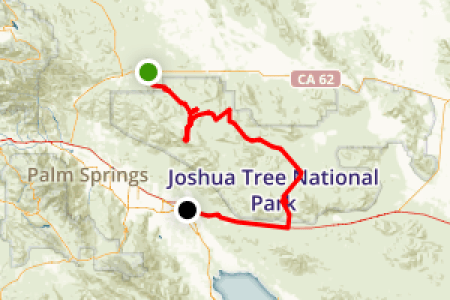 joshua tree national park map » Full HD MAPS Locations - Another ...